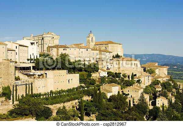 Gordes, Provence, France - csp2812967