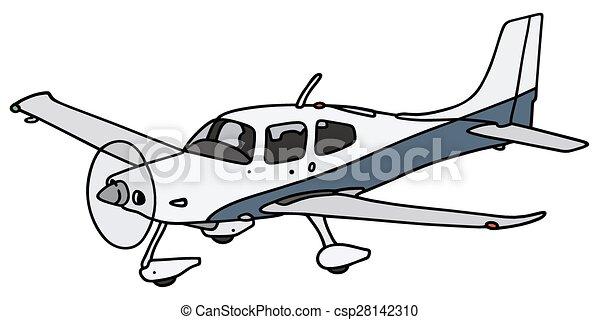kleurplaten vector clip propeller vliegtuig
