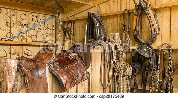 Horse Gear - csp28175489