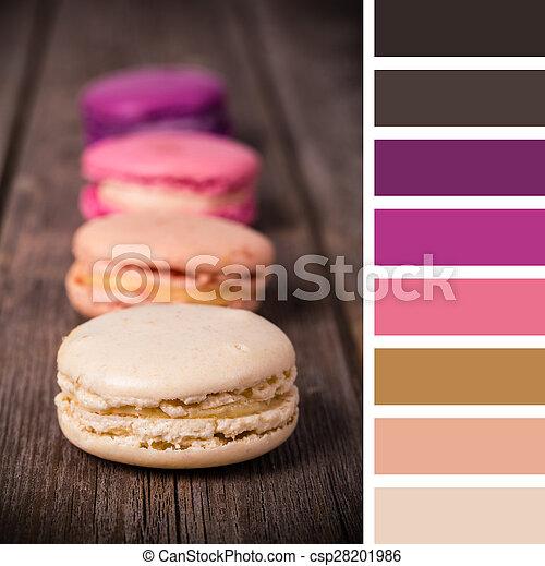 Macaroon palette