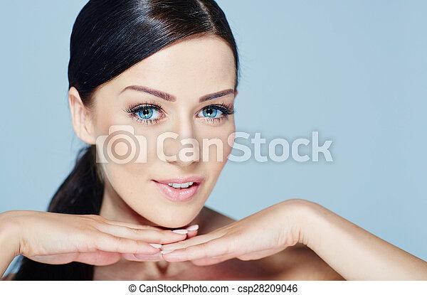 Beauty Model Girl Portrait
