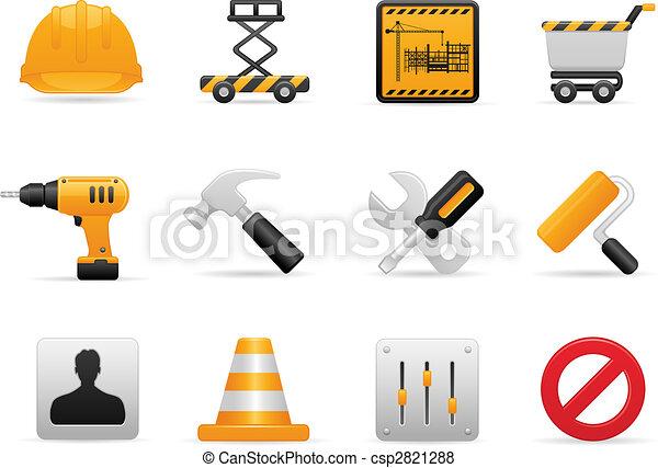 Construction Icon Set - csp2821288