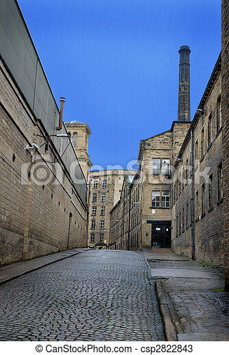 Old cobbled street - csp2822843