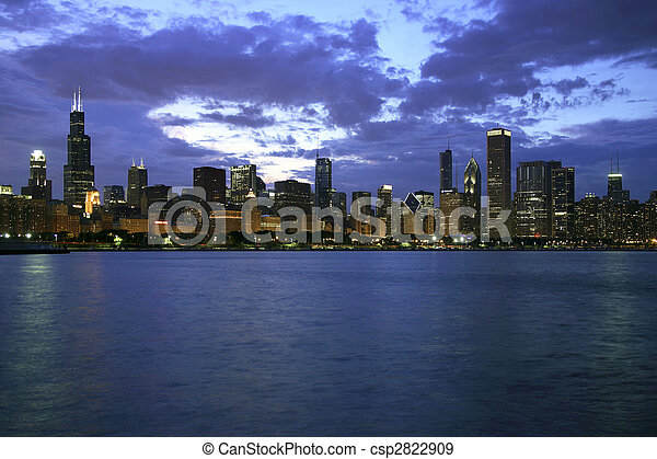 Chicago Skyline - csp2822909