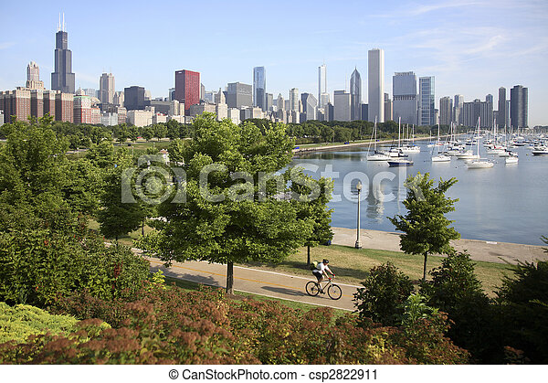 Chicago Skyline - csp2822911