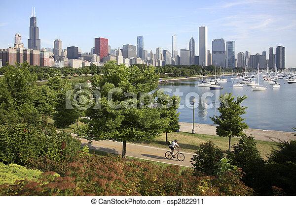 Chicago Skyline - csp2822911