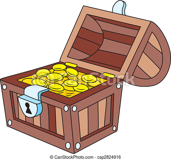 Treasure chest - csp2824916