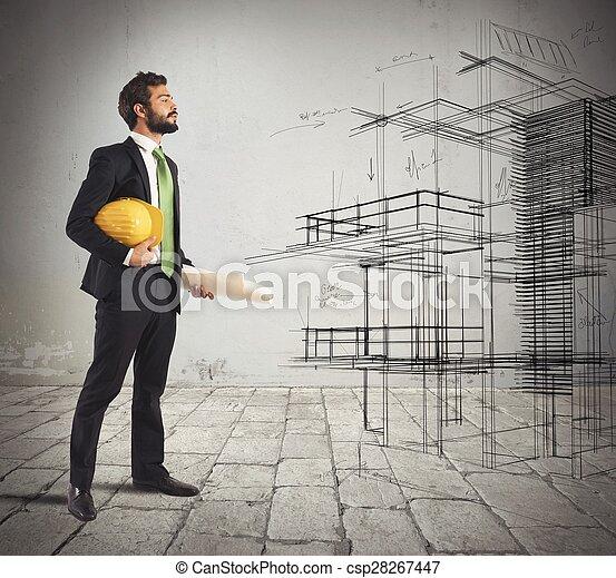 Photo de projet imagine architecte jeune architecte for Jeune architecte