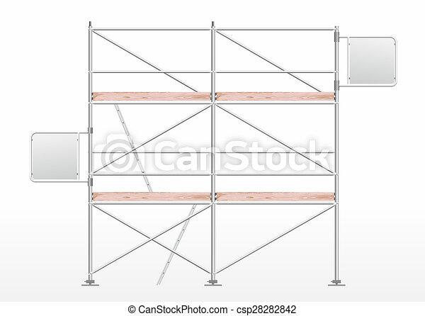 zeichnung von ger stbau a ger stbau f r baugewerbe mit f rdernd csp28282842 suchen. Black Bedroom Furniture Sets. Home Design Ideas