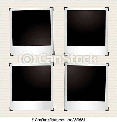 four instant picture - csp2829861
