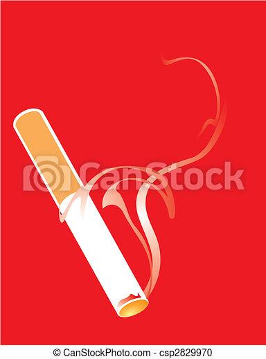 可爱 线条 烟
