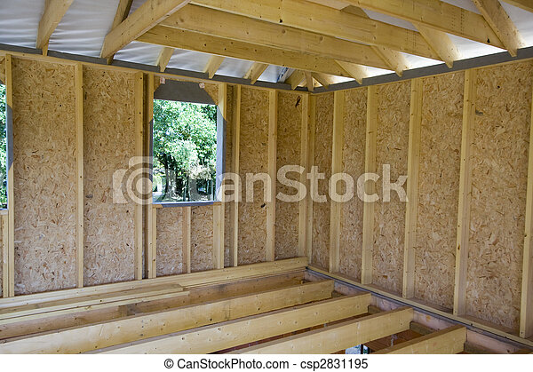 wooden house construction 1
