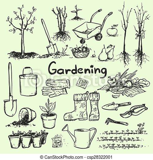 Ferramentas de jardinagem lista