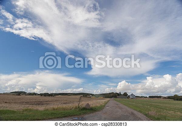 Farm along the way
