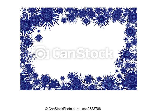 cosmic background blue - csp2833788