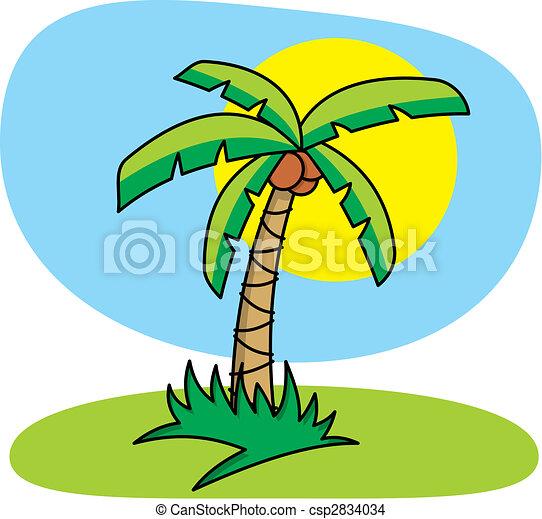 Palm Tree vector - csp2834034