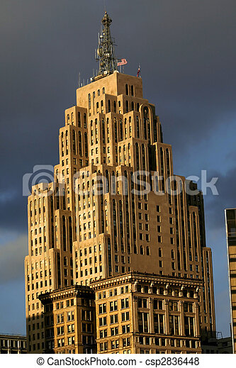 Historic tall building - csp2836448