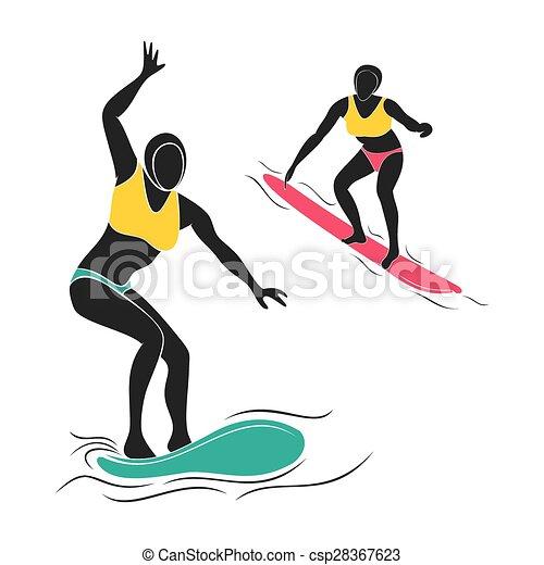surfing player design