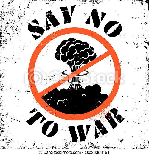 Say no war Clip Art Vector Graphics. 18 Say no war EPS clipart ...