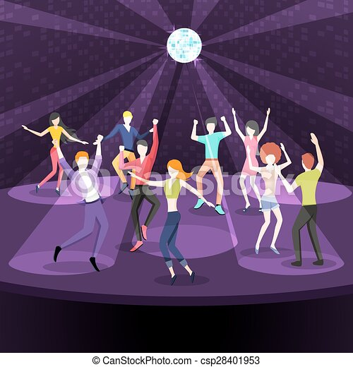 Night Club Dance Clip Art Cliparts