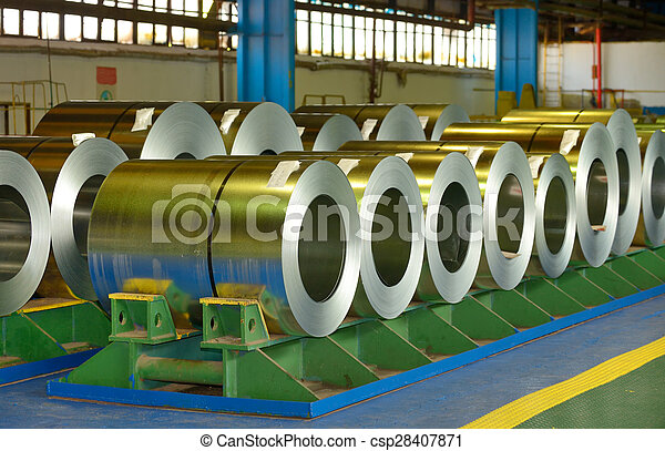 Coiled steel sheets