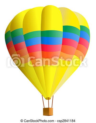 hot air balloon - csp2841184