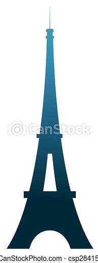 toren, eiffel - csp2841534