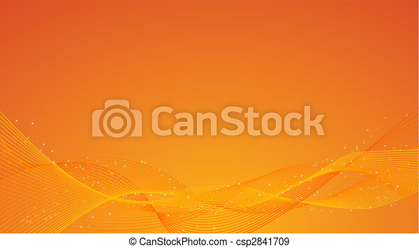 Abstract orange background - csp2841709