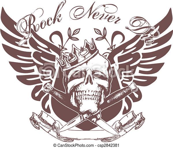 skull emblem - csp2842381