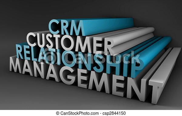 Customer Relationship Management CRM - csp2844150