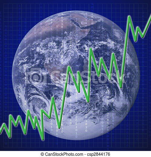Global Economy Recovery - csp2844176