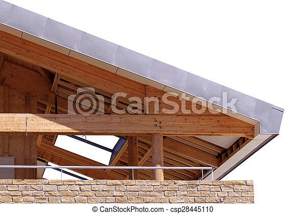 a wooden frame