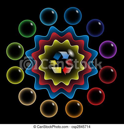 Color wheel - csp2845714
