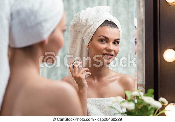 Perfuming after bath