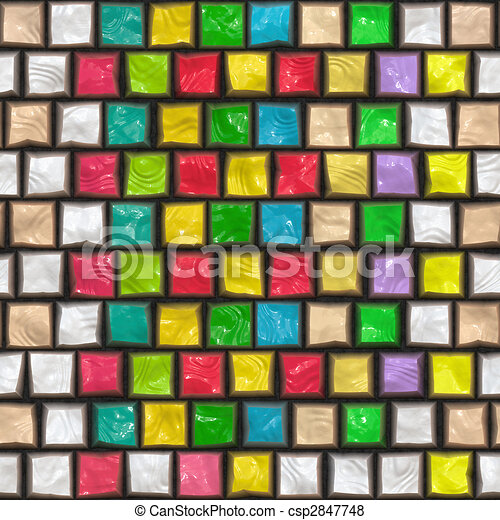 colorful cobble stone pattern - csp2847748