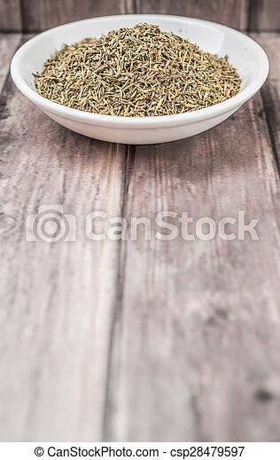Dried Thyme Herbs