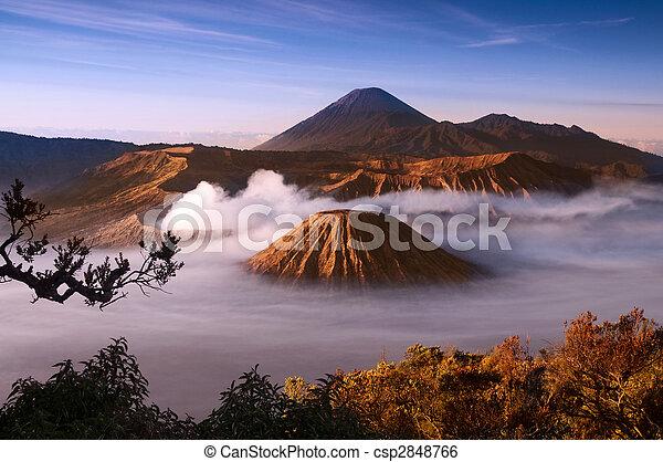 Volcano.  - csp2848766