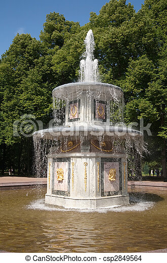 Fountains of Petergof - csp2849564