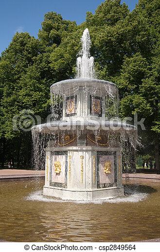 Fountains of Petergof - csp2849564