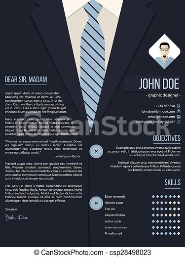 Paper clip resume and cover letter