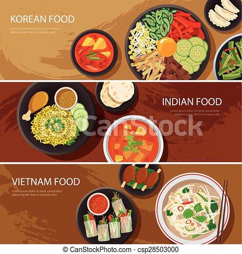 Indian Food Banner