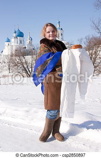Russian hospitality - csp2850897