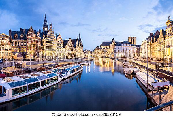 Ghent Belgium - csp28528159