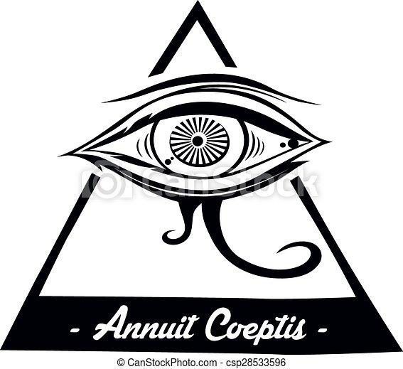 horus eye - csp28533596