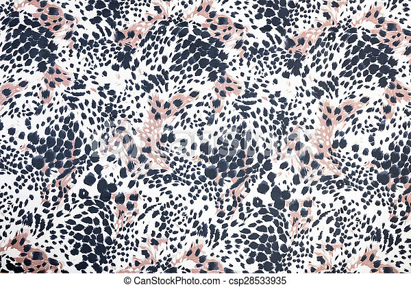 Background of spotted animal fur print