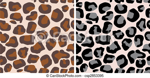 africa animal print - csp2853395