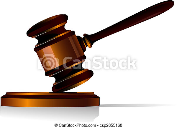 Gavel icon - csp2855168