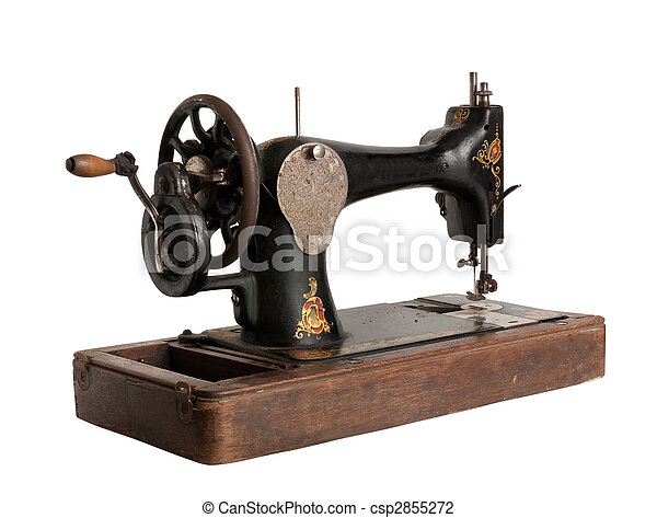 The old sewing machine - csp2855272