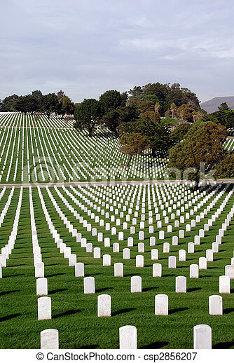 United States National Cemetery - csp2856207