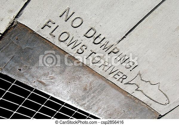 No Dumping - csp2856416
